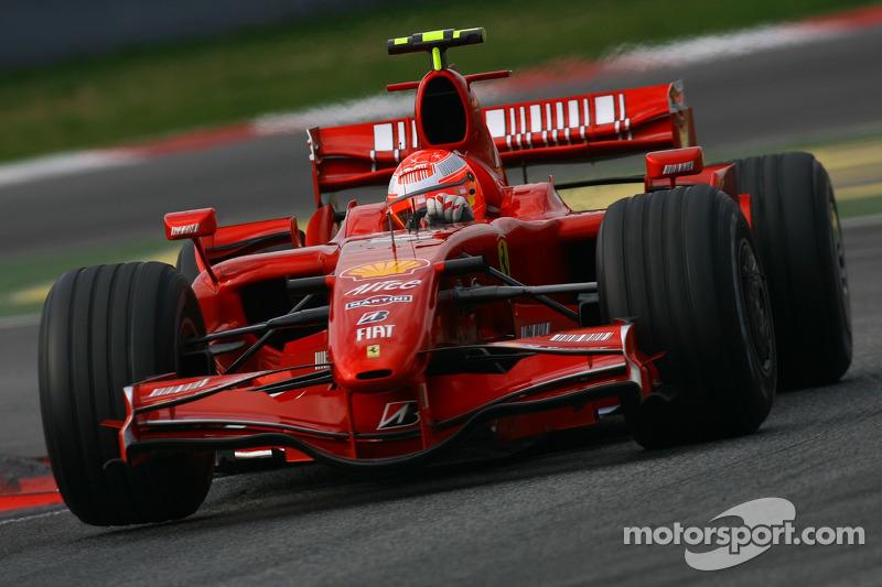 Michael Schumacher, Test Pilotu, Scuderia Ferrari, F2007