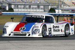 #59 Brumos Porsche/ Kendall Porsche Riley: Hurley Haywood, JC France, Joao Barbosa