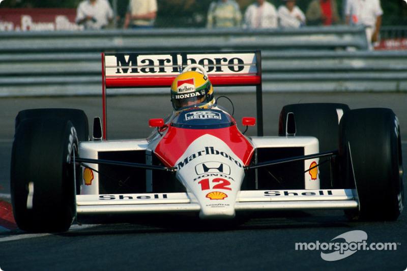 1988: Ayrton Senna, McLaren MP4/4