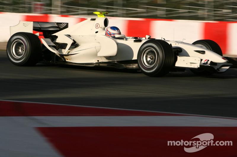 2007: Teste com a Honda