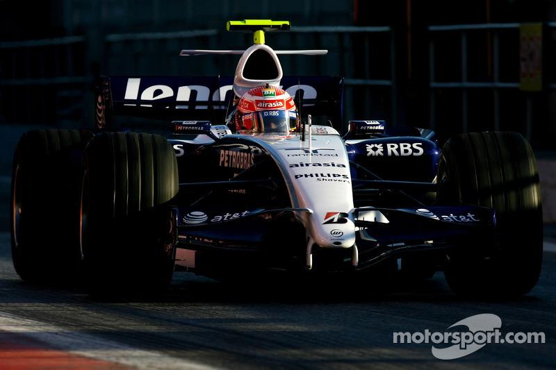 Kazuki Nakajima, Williams F1 Team, FW29-B
