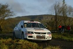Stuart Jones and Andy Bull, Mitsubishi Lancer Evolution IX