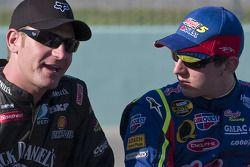 Clint Bowyer et Kyle Busch