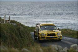 Guy Wilks and Phil Pugh, Subaru Impreza WRC