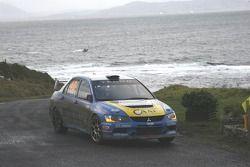 Simone Campedelli et Danilo Fappani, Mitsubishi Lancer Evolution IX
