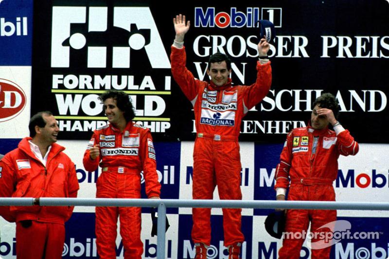 11 - GP da Alemanha, 1988, Hockenheim
