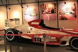 Macau Grand Prix Museum - celebrating 25 years of the F3 Macau Grand Prix: Rodolfo Avila's car in th