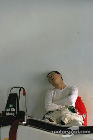 Lei Kit Meng takes it easy