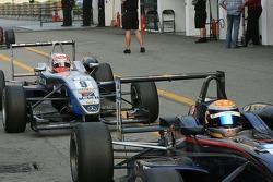 Kobayashi returns after the race