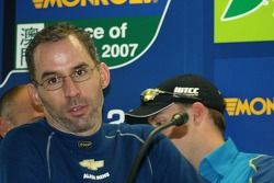 Alain Menu pulls faces