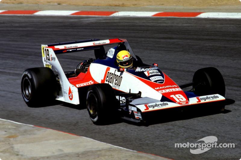 GP de Sudáfrica, 1984 – Primeros puntos y problema físico