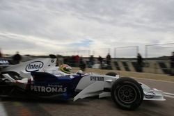 Augusto Farfus, BMW Team Germany, WTCC Driver, Tests the BMW Sauber F1 Team, F1.07