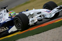 Augusto Farfus, BMW Team Germany, WTCC Driver, Tests the BMW Sauber F1 Team, F1.07
