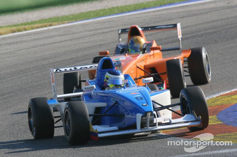 Carlos Huertas, Double R Racing y Esteban Gutiérrez, Autotecnica