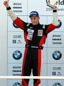 Podium: provisional second place Josef Kral