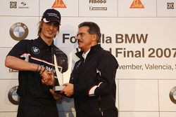 Price Giving Evening at BMW Hospitality, Dr. Mario Theissen, BMW Motorsport Director, 3rd Jens Klingmann, Eifelland Racing