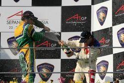 Feature Race Podium