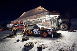La N°22 au Rally HQ service