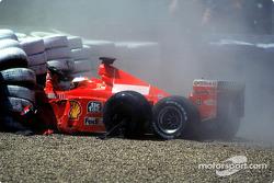 Choque de Michael Schumacher