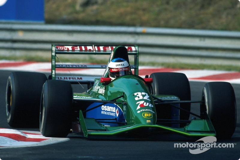 El primer gran premio de Michael Schumacher