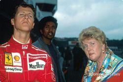 Михаэль Шумахер и его мама