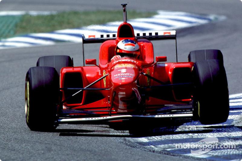 1996: Ferrari - 3º lugar, 3 vitórias, 59 pontos, 16 GPs