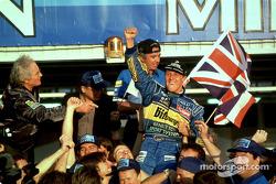 1. und Weltmeister: Michael Schumacher, Benetton