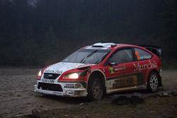 Juan Pablo Raies and Jorge Sergio Perez Companc, Munchis Ford World Rally Team, Ford Focus RS WRC 06