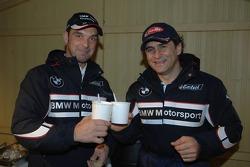 Jorg Muller ve Alex Zanardi serve soup