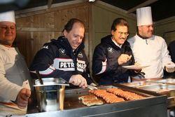 Willy Rampf, BMW-Sauber, Teknik Direktörü ve Dr. Mario Theissen, BMW Sauber F1 Team, BMW Motorsport