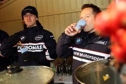 Robert Kubica, BMW Sauber F1 Team ve Andy Priaulx, BMW Team UK, BMW 320si WTCC
