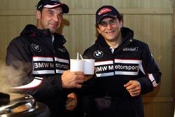 Alex Zanardi, BMW Team Italy-Spain, Jorg Muller, BMW Team Germany