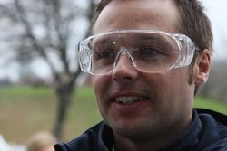 Ice carving, Andy Priaulx, BMW Team UK, BMW 320si WTCC