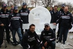 Ice carving, Group picture
