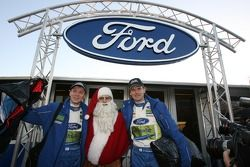 Will Santa Claus deliver the Christmas present that Finland's Marcus Gronholm and Timo Rautiainen re
