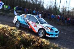 Арминду Араужу и Мигель Рамальо, Mitsubishi Lancer WRC05
