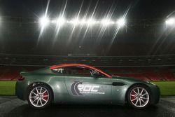 Aston Martin V8 Rally inside the Wembley Stadium