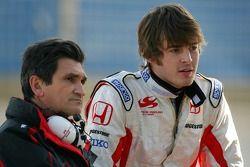 Jacky Eeckelaert, Honda Racing F1 Team, Chief Engineer, James Rossiter, Test Driver, Super Aguri F1 Team