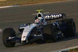 Nico Hulkenberg, WilliamsF1 Team, FW29-B piloto de prueba