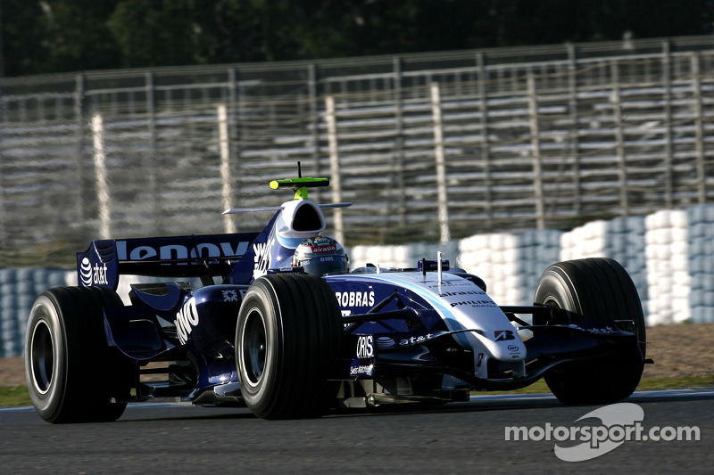 Nico Hulkenberg: 2007 – Williams