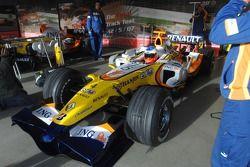 Sébastien Loeb teste la Renault F1