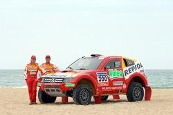 Repsol Mitsubishi Ralliart Team: Hiroshi Masuoka y Pascal Maimon