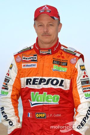 Repsol Mitsubishi Ralliart Team: Jean-Paul Cottret