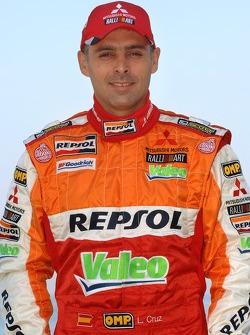 Repsol Mitsubishi Ralliart Team: Lucas Cruz Senra
