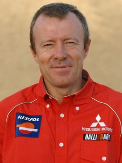 Repsol Mitsubishi Ralliart Team: director técnico Thierry Viardot