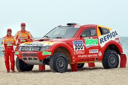 Repsol Mitsubishi Ralliart Team: Люк Альфан и Жиль Пикар