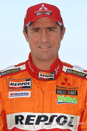 Repsol Mitsubishi Ralliart Team: Stephane Peterhansel