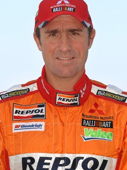 Repsol Mitsubishi Ralliart Team: Stephane Peterhansel