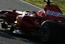 Michael Schumacher, Test Driver, Scuderia Ferrari on Slick tyres