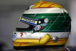 Le casque de James Courtney (Jeld-Wen Motorsport Ford Falcon BF)